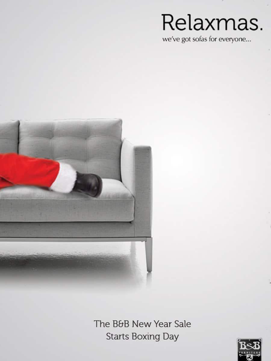 B&B Furniture Isle of Man Christmas Campaign
