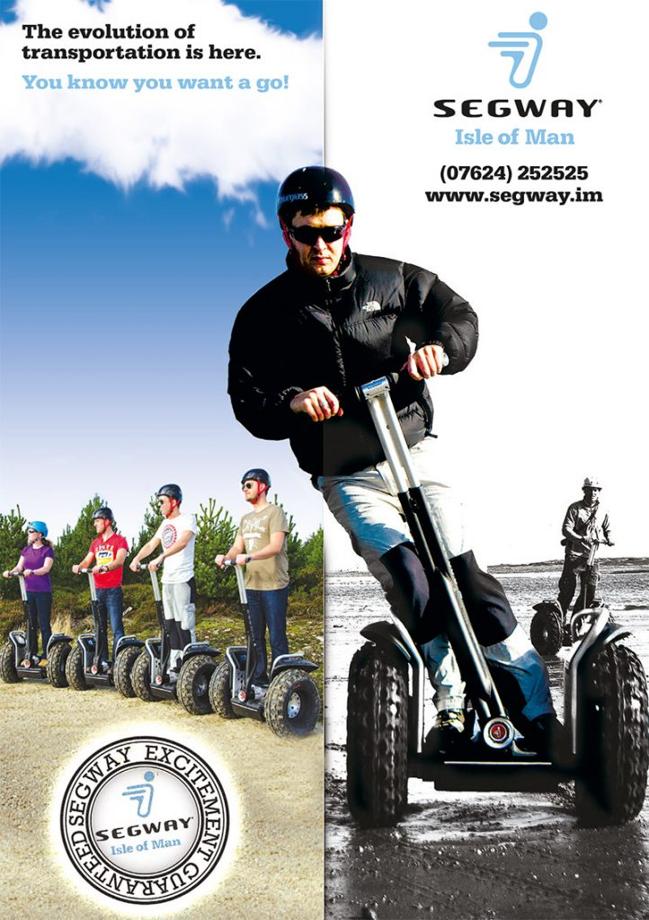 Segway Graphic Design Isle of Man