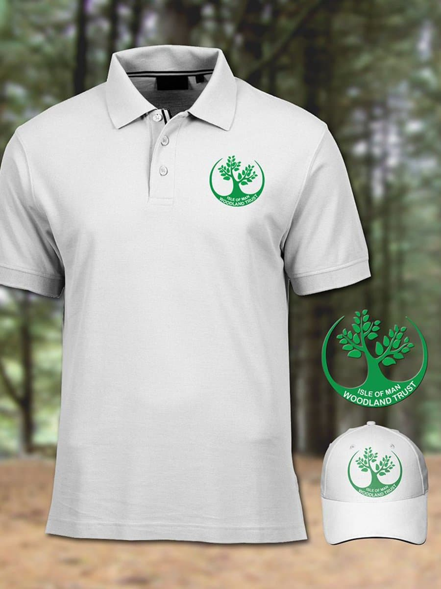 Isle of Man Woodland Trust Shirt Design